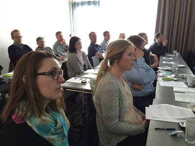 Over 40 deltakere fra 34 bedrifter deltok på Tariffseminarene i Nordland