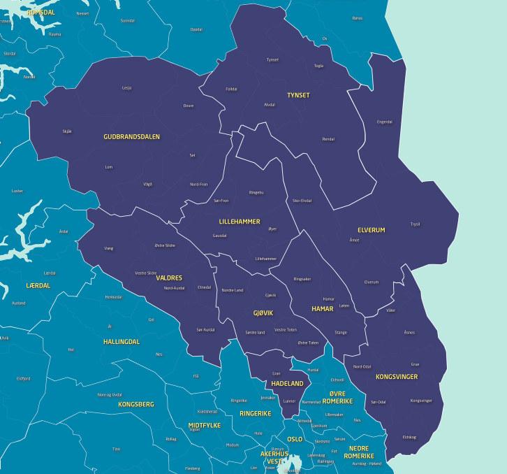 NHOs kommunekart