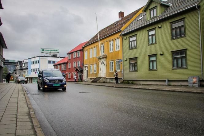 Skippergata i Tromsø