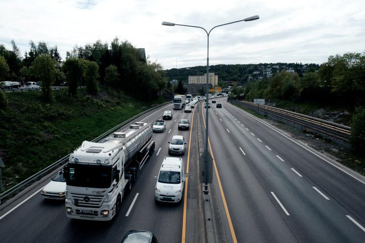 Trafikk på hovedvei
