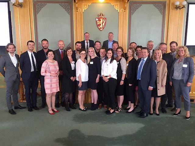 Nord-Norges Ambassadører på Stortinget