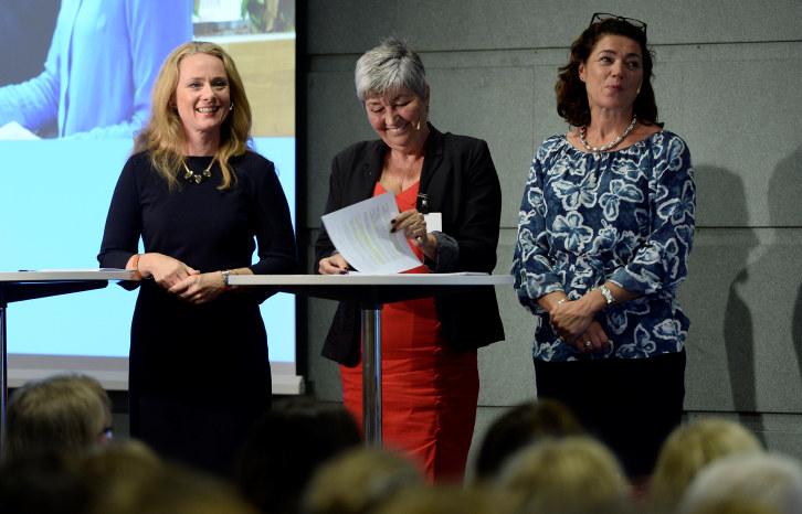 Du møter blant andre NHO-sjef Kristin Skogen Lund og LO-leder Gerd Kristiansen under årets HR-dag.