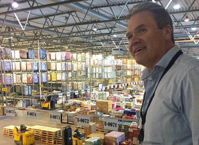Trond Eikeland, daglig leder i Rema distribusjon