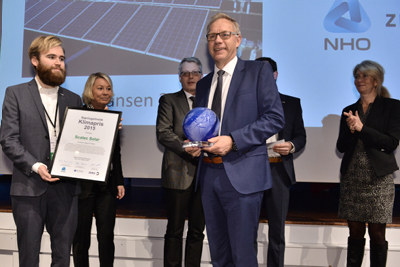 Foreslå egen eller andres bedrift til Næringslivets klimapris, som NHO, NTNU og ZERO deler ut for tredje gang i år. Frist for nominasjoner er 10. november.