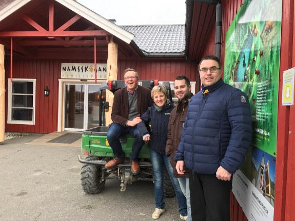 Onsdag denne uken fortsatte NHO Trøndelags medlemsturne til bedrifter i Namsos, Flatanger og Grong.