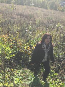 Nina Solli på Landåsjordet i Asker