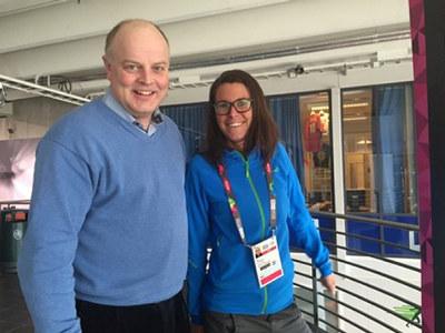 En av bedriftene vi skal innom på medlemsturne i Lillehammerregionen er Olympiaparken AS. Administrerende direktør, Hans Rindal, er opptatt av å skape minneverdige opplevelser på jobb. Foto: Linn Alicia Slora Kristiansen.