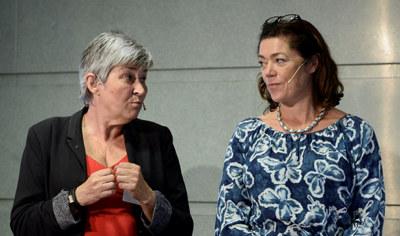 LO-leder Gerd Kristiansen og NHO-sjef Kristin Skogen Lund frykter mer arbeidslivskriminalitet.