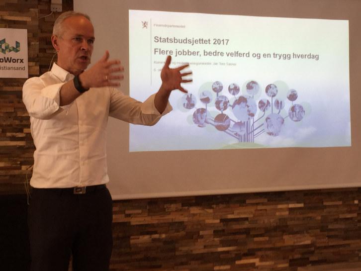 Målrettede tiltak mot blant annet Sørlandet bidrar til å gjøre omstillingen i næringslivet enklere, mener NHO Agder.