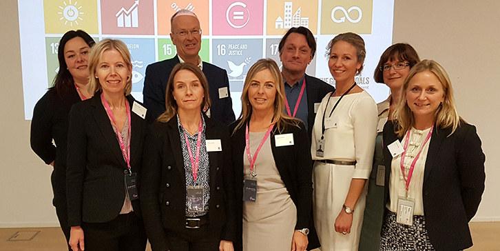 Arrangementskomiteen: Line Berg Karlsen, Helene Holtet, Henrik Munthe (NHO), Vibeke Tegneby (DNB), Karoline Bøhler (Rederiforbundet), Nils Molin (Kongsberg Gruppen), Hedda Felin (Statoil), Ellen Behrens (Orkla) og Cecilie Hersleth (Telenor).