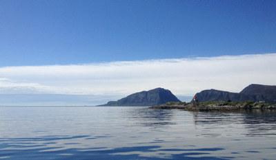 Illustrasjon Herøyfjorden Norge