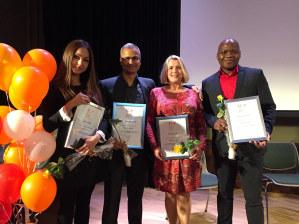 Fire tidligere Global Future deltakere er blant vinnerne i Top 10 i år.
