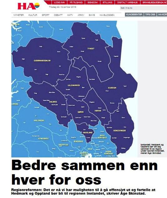 Faksimile Hamar Arbeiderblad 19.04.16.