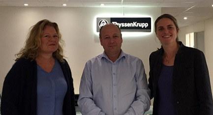 Geir J Hansen i ThyssenKrupp Elevator
