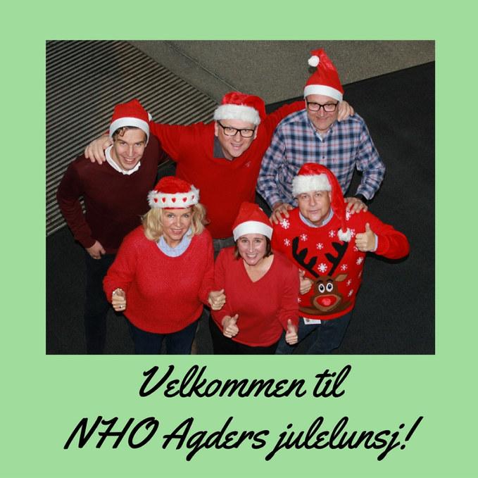 Takk til over 100 deltakere som gjorde årets julelunsj til en suksess.