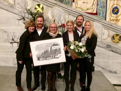 Lærlingekompaniet fikk årets fagopplæringspris i Oslo kommune