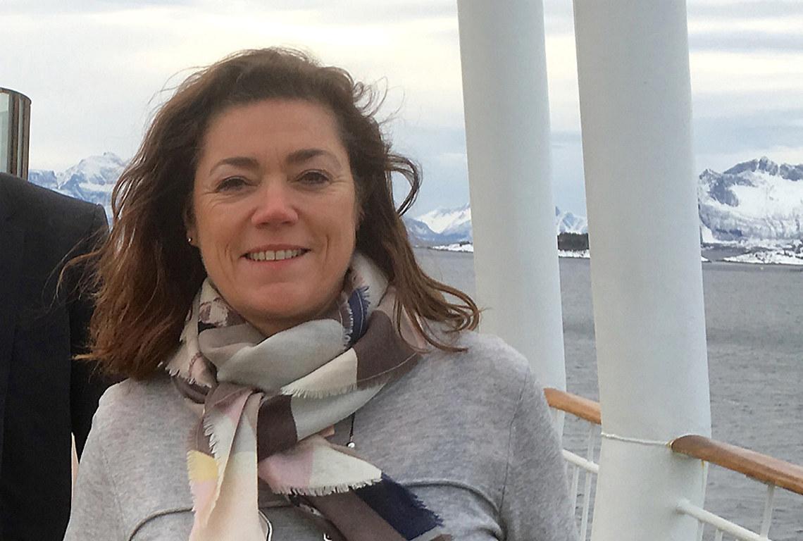 NHO-sjef Kristin Skogen Lund.