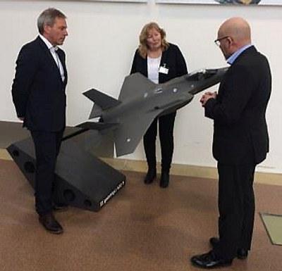 NHO Buskeruds nye regiondirektør besøkte teknologiparken på Kongsberg denne uken. Tilgang på kompetanse og god infrastruktur var viktige punkter på dagsorden