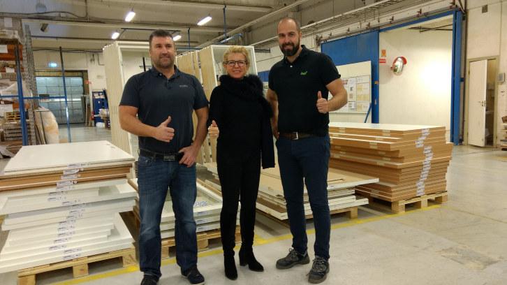 Fokus og kontinuerlig forbedring har gitt Nordic Dørfabrikk i Lyngdal suksess.
