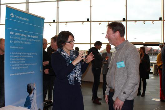 Over 100 deltakere fra privat og offentlig sektor deltok på seminar etter Agderkonferansen for å lære mer om mijøvennlige løsninger.