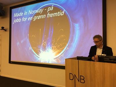 Regiondirektør Åge Skinstad oppfordrer Innlandet til å ta del i det grønne skiftet.