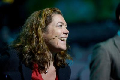 NHO-sjef Kristin Skogen Lund mener ordet «fandenivoldskhet» beskriver det som må til for å få til en grønn omstilling.