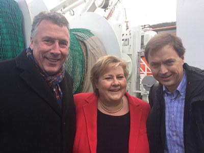 - Dette er en strategi for fremtidens jobber, sa statsminister Erna Solberg da Regjeringen i dag la fram sin havstrategi.