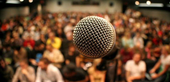Bilde av mikrofon.