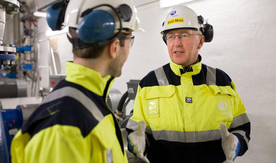 Arvid Moss, konserndirektør i Hydro, er innstilt som ny NHO-president. Foto: Øyvind Breivik, Hydro.