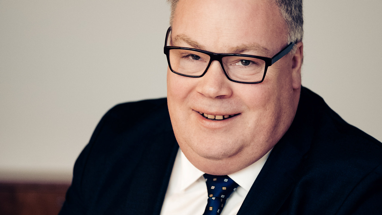 Statssekretær i Kulturdepartementet, Bård Folke Fredriksen i Høyre