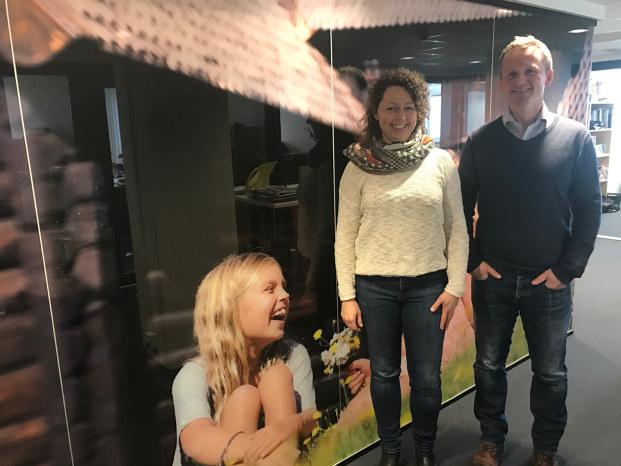 Prosjektleder Kristin Prøven og reiselivssjef Ove Gjesdal er klar for å løfte reiselivet til et nytt nivå.