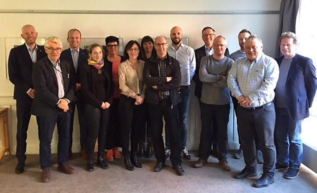 NHO-familien i Trøndelag møttes i dag for første gang til felles styremøte. Sammen skal vi skape økt gjennomslag for våre medlemmer.