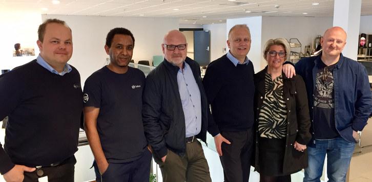 Sulland Trondheim er sist i rekken av bedrifter i Trøndelag som har fått diplom som bevis på vellykket rekruttering gjennom Ringer i Vannet-prosjektet