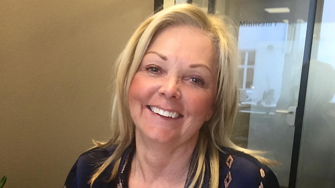 Portrait av Nina Riibe, styreleder i KOMM og CEO i Geelmuyden Kiese Norge.