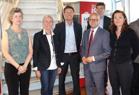 NOx-fondet med Klima- og miljøminister Vidar Helgesen og Kristin Skogen Lund