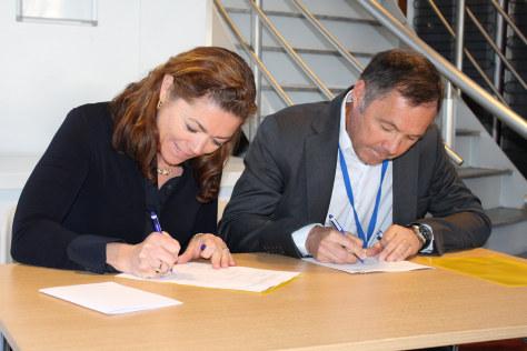 Kristin Skogen Lund og Tom Rådahl