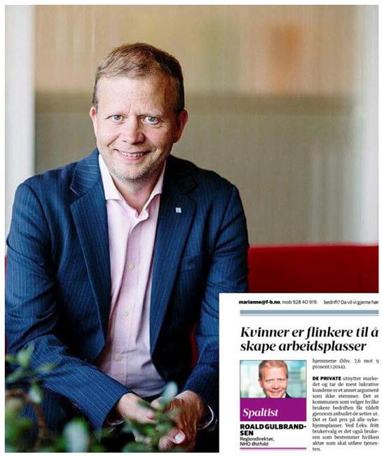 Norge trenger flere kvinnelige gründere og i offentlig sektor er det et behov for mer innovasjon. Ifølge Statistisk sentralbyrås tall er kvinner flinkere til å skape flere arbeidsplasser.