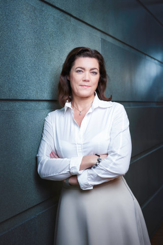 Det er ikke bærekraftig at én av fem mottar støtte fra Nav, mener Kristin Skogen Lund