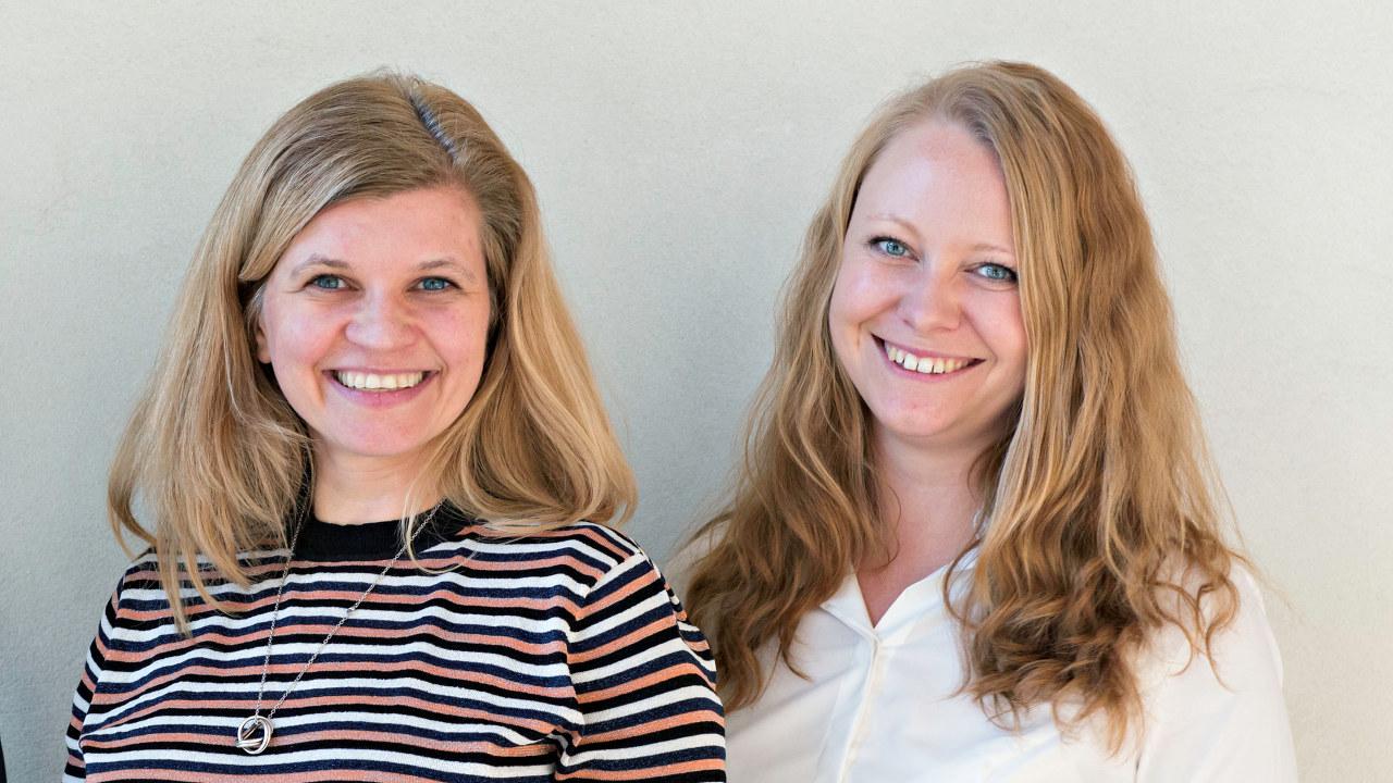 Monika Hestad og Ihna Stallemo i rådgivningsselskapet Brand Valley.