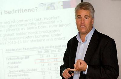 Øystein Dørum blir ny sjeføkonom i NHO