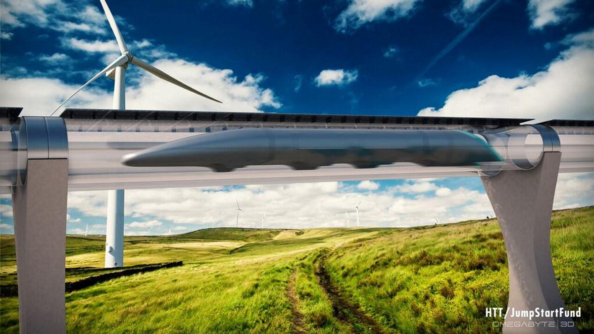 Hyperloop en form for rørpost som kan frakte folk og varer.