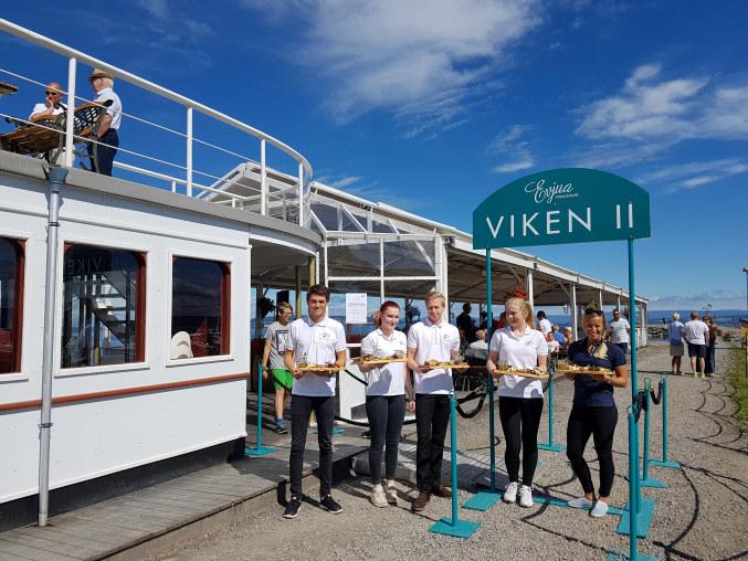 Med utgangspunkt i naturskjønne omgivelser i Totenvika har de skapt verdier for både turister og lokalt næringsliv.