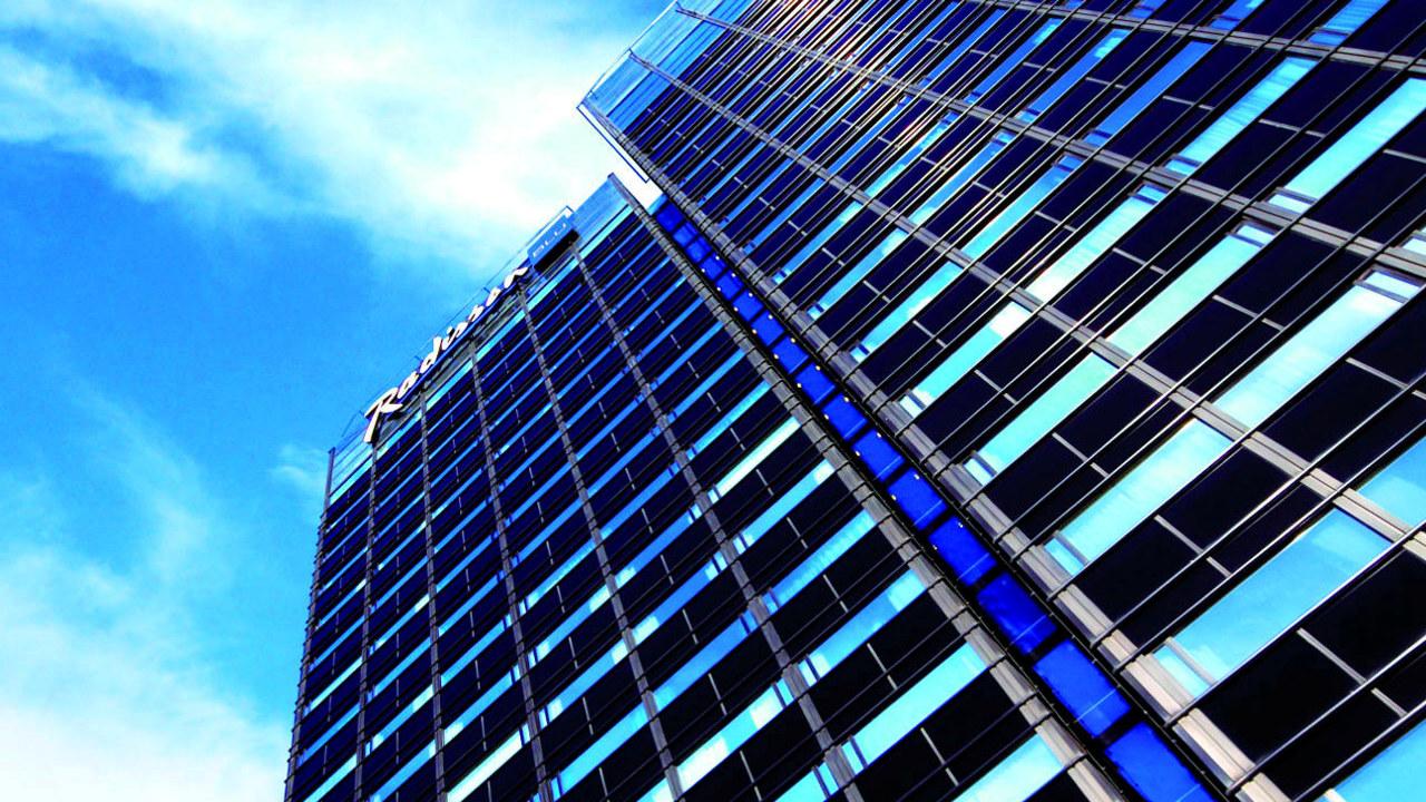 Hotelfasade, Radisson Blu Scandinavia