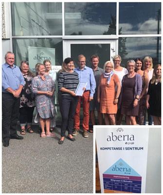Aberia Ung er en norsk velferdsinnovatør som yter tjenester til barn og unge som har behov for barneverntjenester og helse og omsorgstjenester.