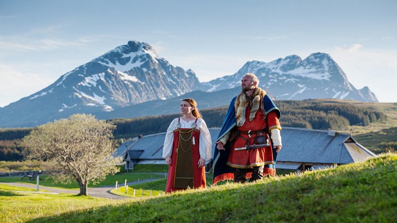 Vikinger på Lofotr Vikingmuseum