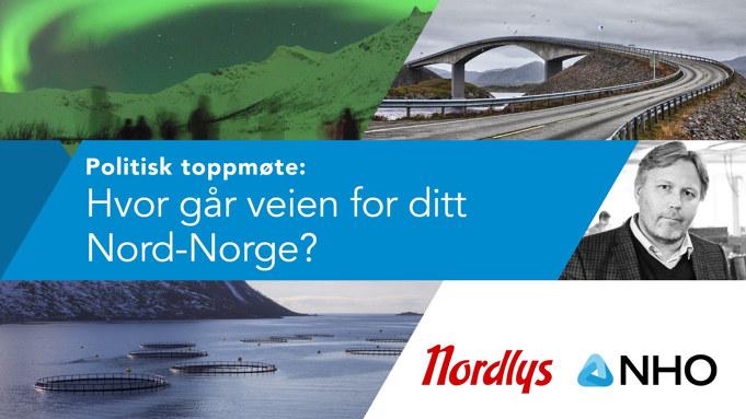 Sammen med Nordlys inviterer vi til valgdebatt. Vi setter næringspolitikk på agendaen. Bli med på debatten.