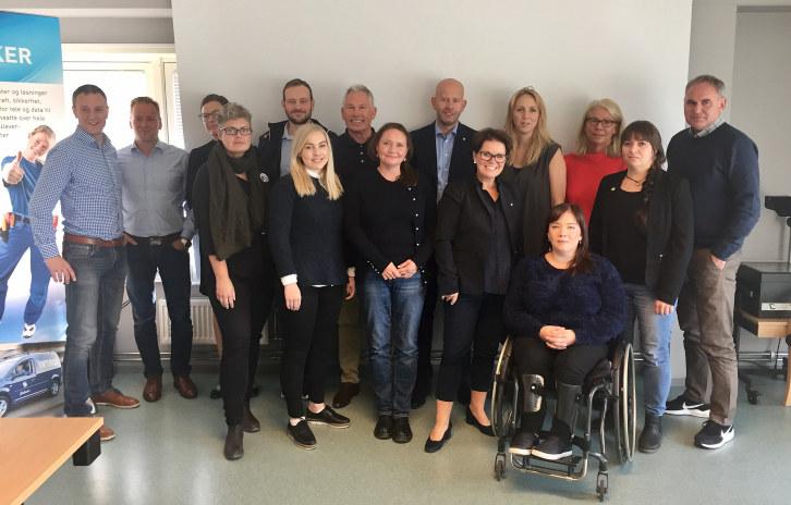 Inkludering, seriøsitet, kompetanse og fleksibilitet var tema da medlemsbedrifter i NHO Trøndelag møtte stortingskandidatene til dialog hos Vintervoll.