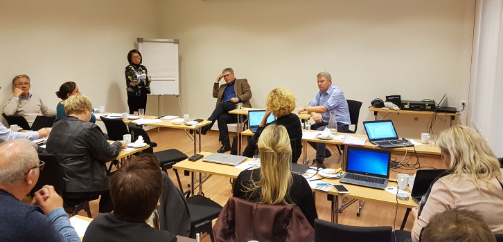 Første felles styremøte for NHO Finnmark, Troms og Svalbard har gitt regionen navn. NHO sin nye nordligste stor-region er Arktis.