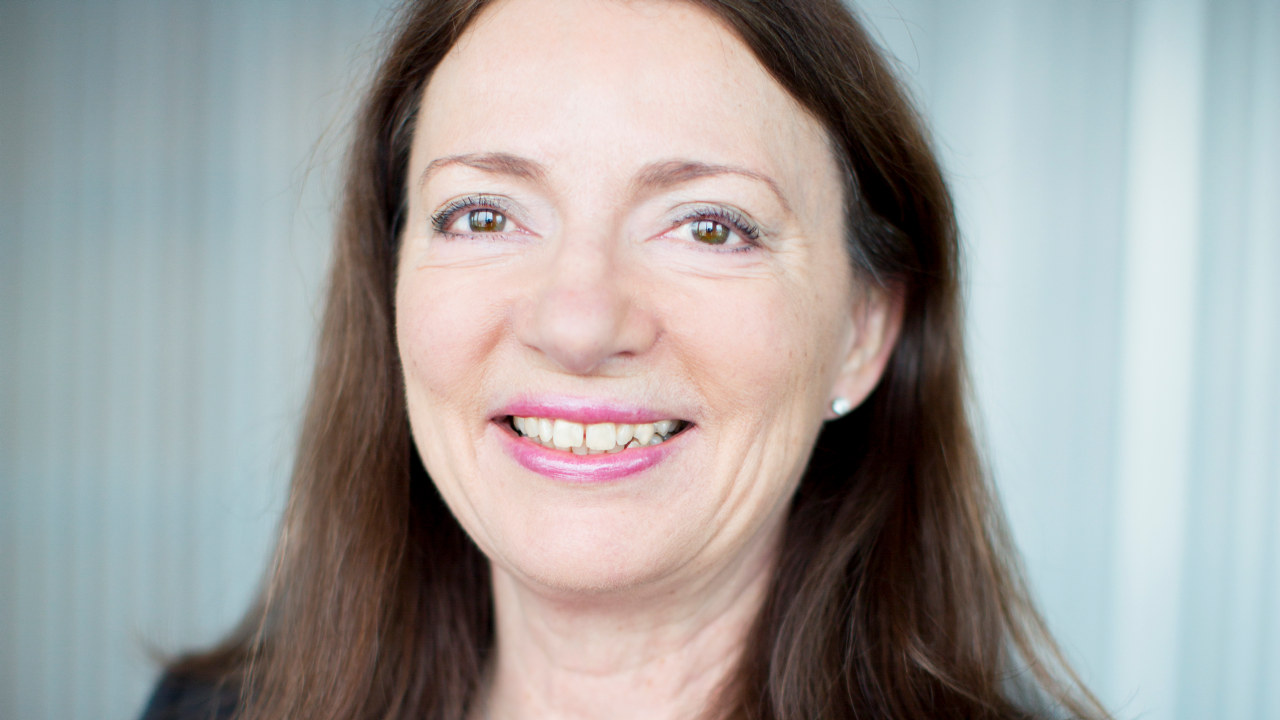 Portrett av Solfrid Skilbrigt, Sopra Steria.