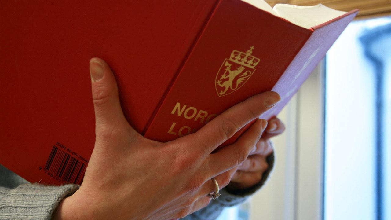 Norges lover - illustrasjonsfoto.